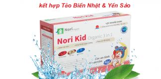 thuốc bổ cho em bé NORIKID - bìa nền trắng