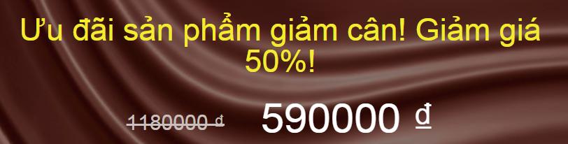 thuốc giảm cân ChocoSlim - ưu đãi